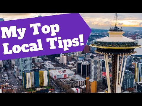 Visiting Seattle? My Five Top Tips!