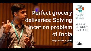 Perfect grocery deliveries: solving location problems unique to India