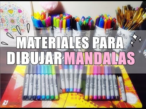 MATERIALES PARA DIBUJAR | MANDALAS