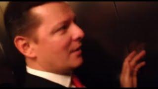 Ляшко застрял в лифте. Прикол