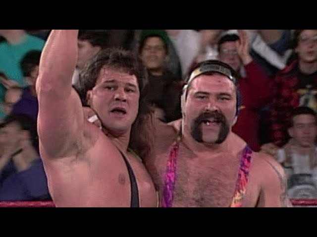 Rick and Scott Steiner make their Raw in-ring debut: Raw, January 11, 1993