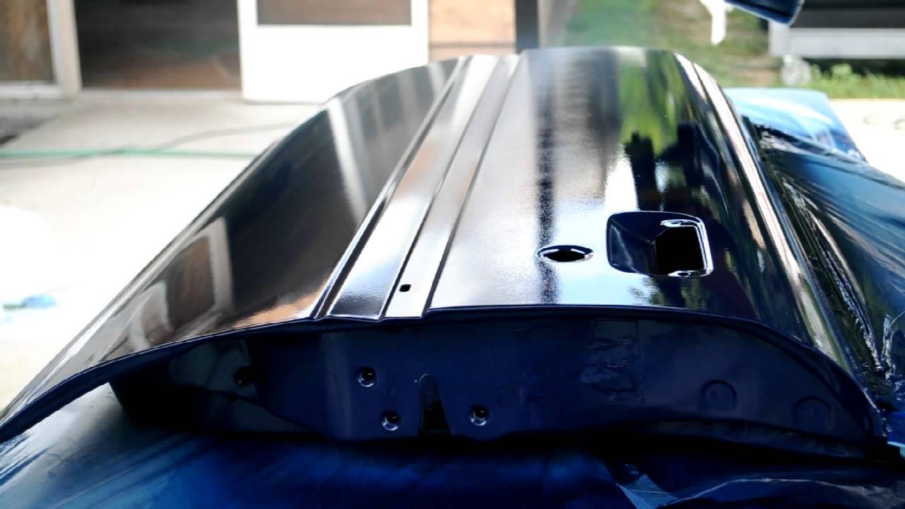 Rustoleum topside wagner hvlp 3 youtube for Spray gun for oil based paints
