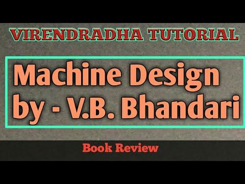 Design Of Machine Elements Text Book