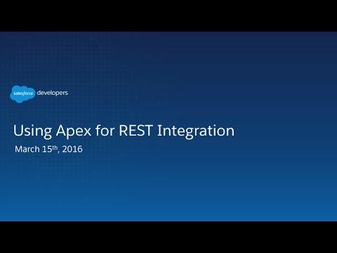 Using Apex for REST Integration