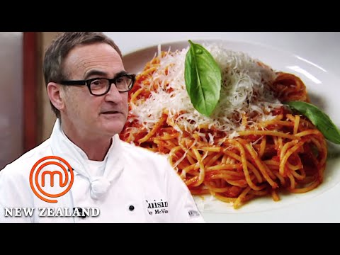 How To Cook The Perfect Italian Tomato Sauce | MasterChef New Zealand | MasterChef World