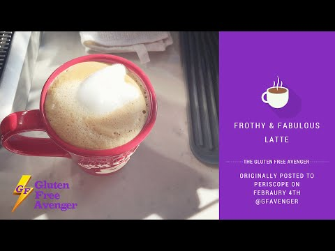 How to Make a Frothy and Fabulous Latte