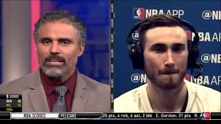 Rick Fox asks Gordon Hayward about CLG Doublelift moving to TSM ON NBA TV
