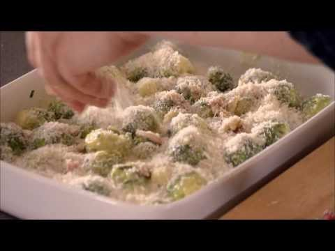 Brussel Sprout Gratin - My Christmas Kitchen