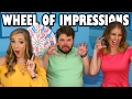 Wheel of Impressions Margeaux vs Brian Hull vs Lindsey. Totally TV