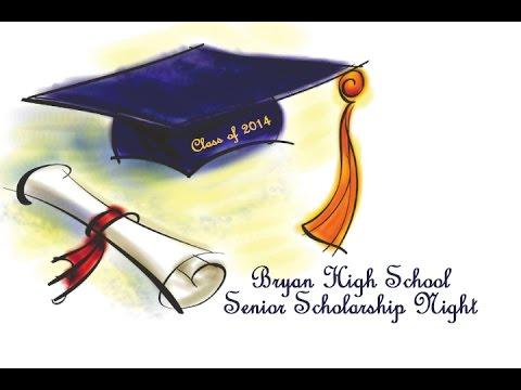 BHS Senior Scholarship Night 2015