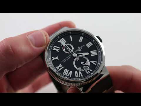 Pre-Owned Ulysse Nardin Maxi Marine Chronometer 263-67-3/43 Luxury Watch Review