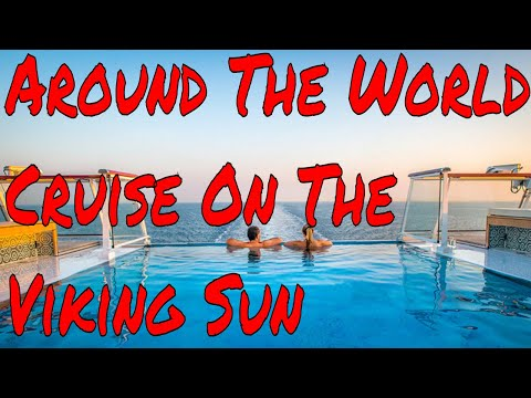 Around The World 245 Day Viking Ocean Cruise! The Ultimate Meet and Greet Cruise Let's Go!