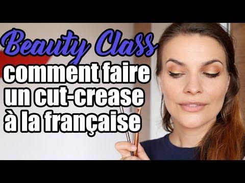 Beauty class : comment faire un cut crease à la Française
