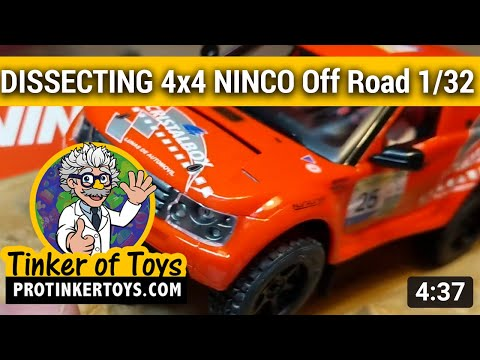 DISSECTION | 4 X 4 NINCO Off Road 1/32