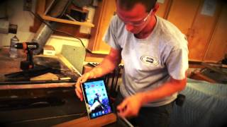 How To Make A Custom Wood Ipad Stand In 21 Seconds, Table Saw Dado Blade Design Application