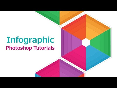 InfoGraphic Tutorial in Photoshop #07 - Polygon Infographic