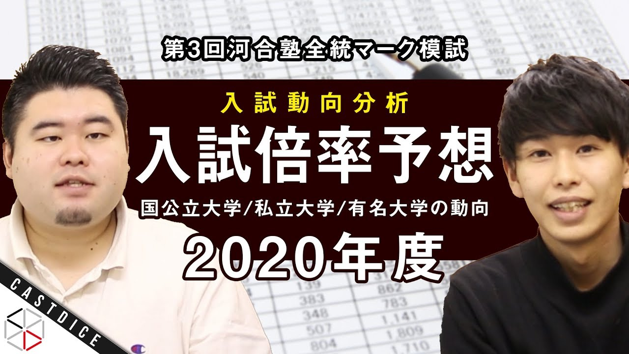 河合塾 模試 2020