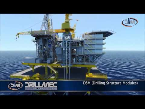 Drillmec 3000HP Offshore Modular Platform Drilling Rigs (2016)