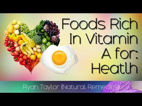 Foods Rich in Vitamin A