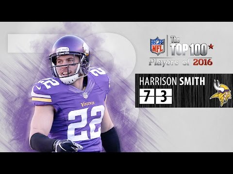 #73: Harrison Smith (S, Vikings) | Top 100 NFL Players of 2016