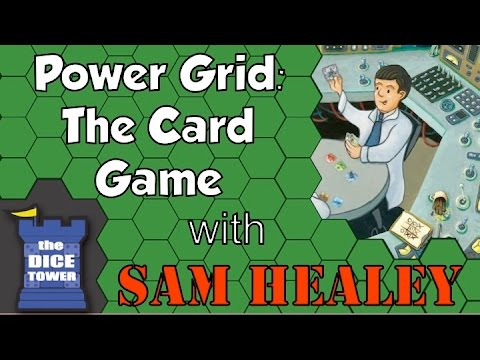 Power Grid: The Card Game Review - with Sam Healey