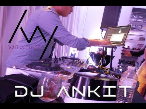 Ivy Hotel NYE 2012 Mixing Video  - DJ Ankit