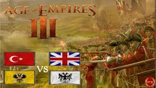 Spannendes Battle als Osmane in Indochina Teil 1 // 2vs2 // Age of Empires 3 [Deutsch/HD]