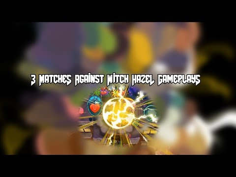 3 Matches Against Witch Hazel Gameplays  | Plants vs. Zombies Heroes™