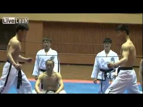 Phenomenal North Korean Taekwondo. Real Martial Art Demonstration.