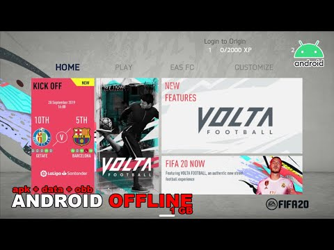 Game Android Offline FIFA20 v1.0 New, Full Kits, Real Face, Transfer 19/20 Link + Cara Install - 동영상