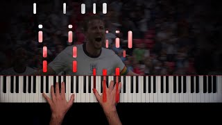 Three Lions (Football's Coming Home) - Piano Cover + Sheet Music