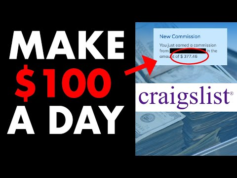 How to Make $100 Per Day Online On CRAIGSLIST In 2021