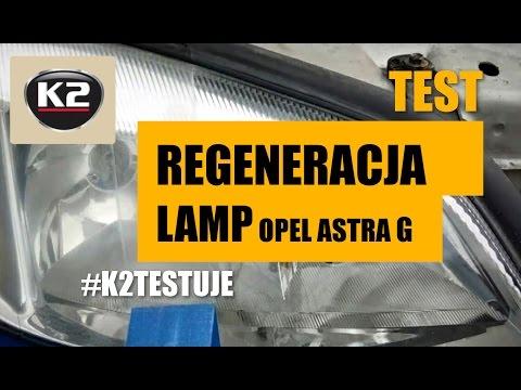 Testy użytkowników:  Renowacja reflektorów Opel Astra G #K2TESTUJE