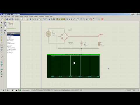 Tutorial: Time domain (transient) simulation in Proteus ISIS (HD)