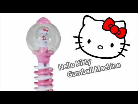 HELLO KITTY CANDY | Giant Spiral Gumball Machine