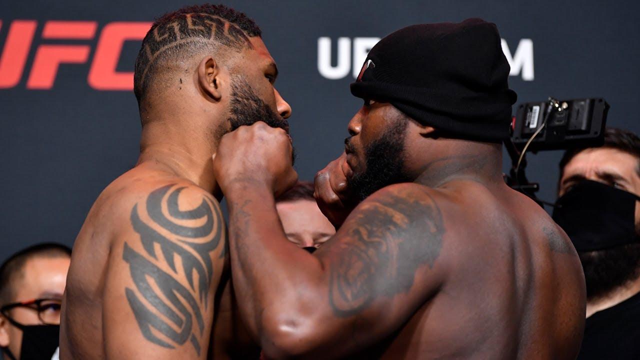 UFC Vegas 19: Weigh-in Faceoffs