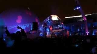 DJ Mini, Place des Festivals, Panasonic FZ150, Montreal, 25 February 2012