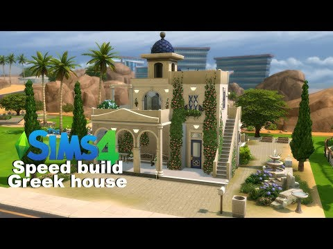 [The sims 4 Speed build] Greek house