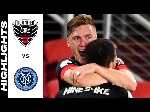 DC United New York City Goals And Highlights