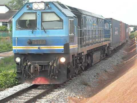 KTMB locomotive 29 Class - CNR Dalian at Taman PKNK, Alor Setar.