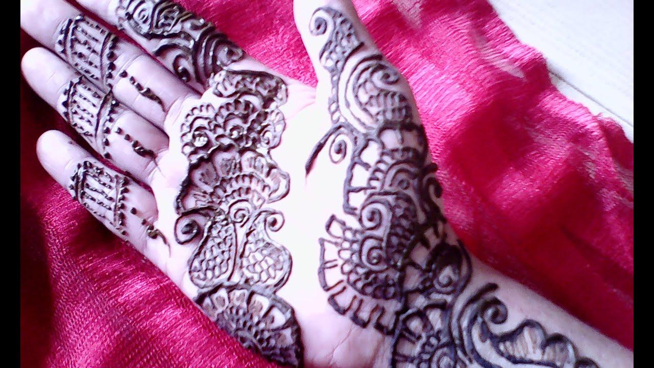 Flower Bangles Mehndi : Easy rose arabic fingers henna mehndi design tutorial youtube