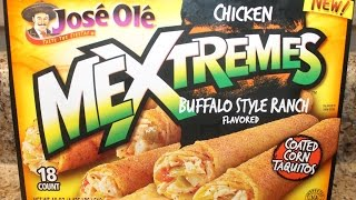 Jose Ole: Mextremes Chicken Buffalo Style Ranch Taste Test & Review