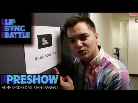 Download John Krasinski vs. Anna Kendrick   Lip Sync Battle Preshow