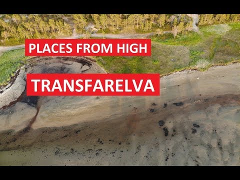 Places From High: Transfarelva River, Alta, Finmark, Norway