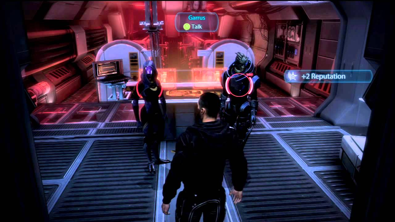 Hook up with liara mass effect 2