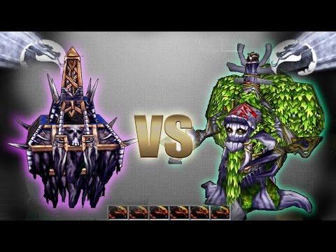 Эльфы против Нежити в Warcraft 3