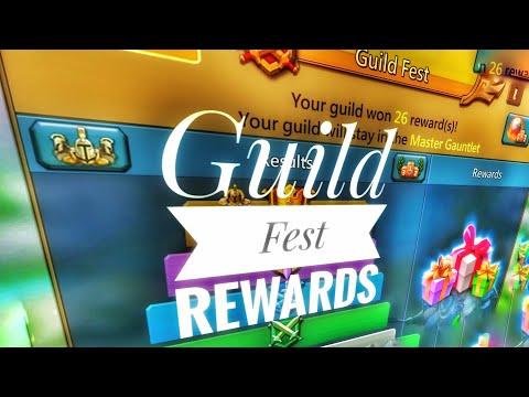 Lords Mobile - Wow...Guild Fest Rewards
