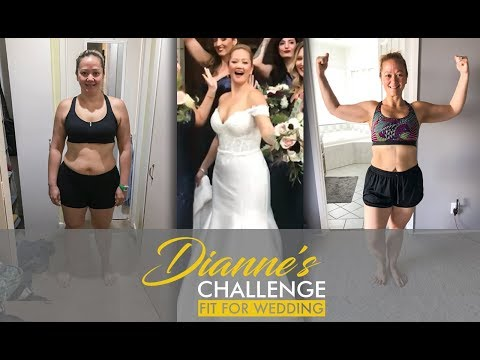 Ep. 10 Before & After 20 lb. Wedding Weight Loss Transformation |Dianne's Challenge: Fit for Wedding