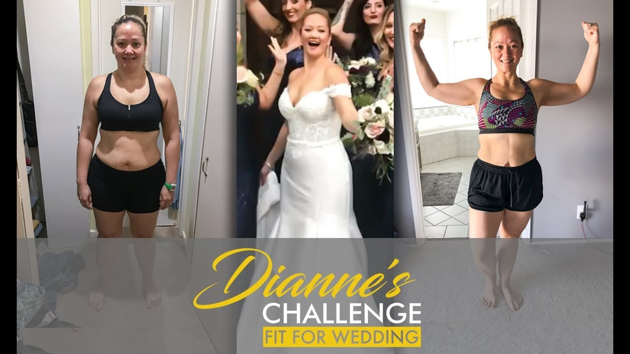 Wedding Weight Lose.Ep 10 Before After 20 Lb Weight Loss Transformation Dianne S Challenge Fit For Wedding