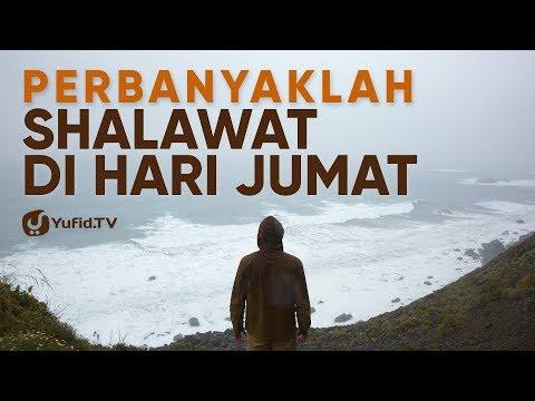 Shalawat Hari Jumat Keutamaan Shalawat Di Hari Jumat Poster Dakwah Yufid Tv